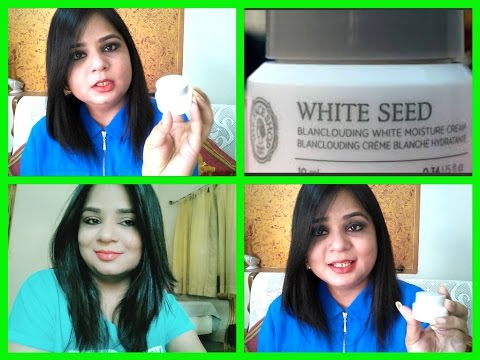 Review   The Face Shop White Seed Blanclouding Moisture Cream   Angels reborn