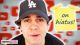 David Dobrik's YouTube Silence Explained!