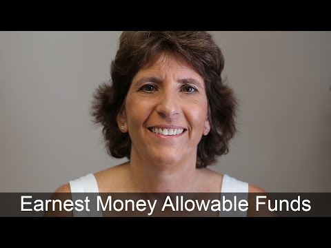 Homebuyer's Earnest Money Must Be From an Allowable Source - Don't Use a Credit Card