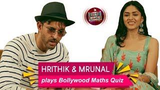 Hrithik Roshan plays Bollywood Maths Quiz | Super 30 | Mrunal Thakur | Mirchi Prerna | Filmy Mirchi