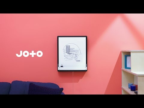 Joto: The robotic drawing board that draws with a pen