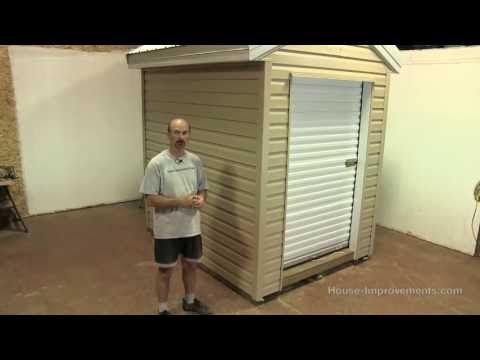 How To Build A Shed - Final Wrap Up