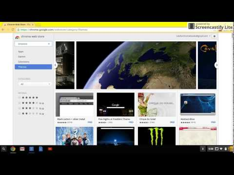 How to Change your Google Chrome Background on a Chromebook