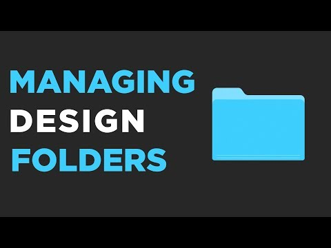 The Graphic Design Workflow | Organising Files & Documents