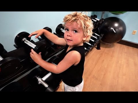 3 Year Old Tydus GETS SIX PACK ABS!!