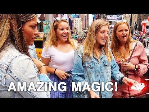 10 Street Magic Tricks in New York City | How To Magic