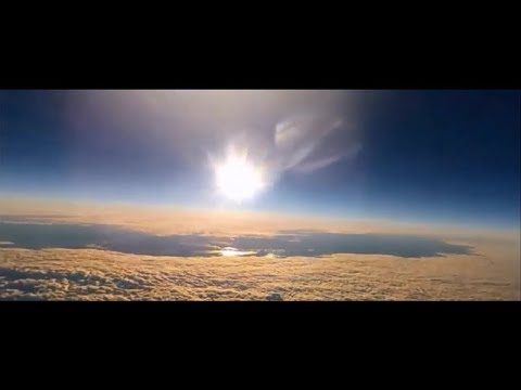 High Altitude Balloon Proves Flat Earth With Small & Close Sun