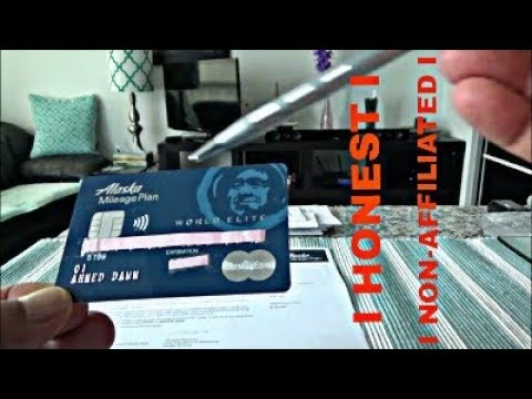 The Alaska Airlines World Elite MasterCard Unboxing & Brief Review by Financial Author Ahmed Dawn