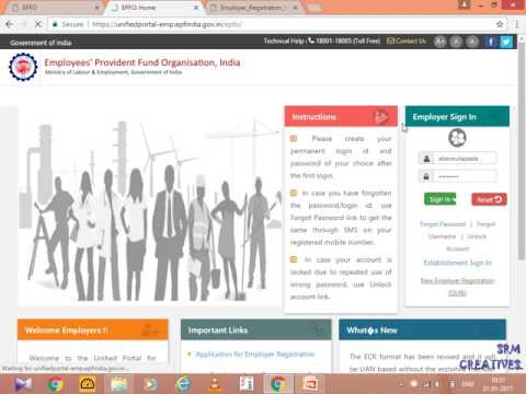 Online Registrstion of Establishment OLRE Portal