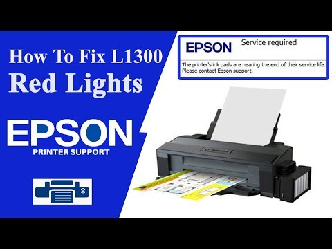 Epson L1300 Resetter , L1300 service Required