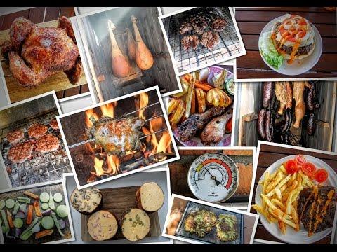 Ukázka grilování, pečení, uzení / Sample grilling, roasting, smoking