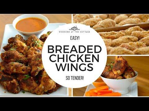 BREADED CHICKEN WINGS | Tasty & Easy!