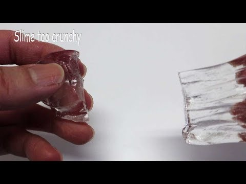 How To Fix Hard Clear Slime! DIY POP