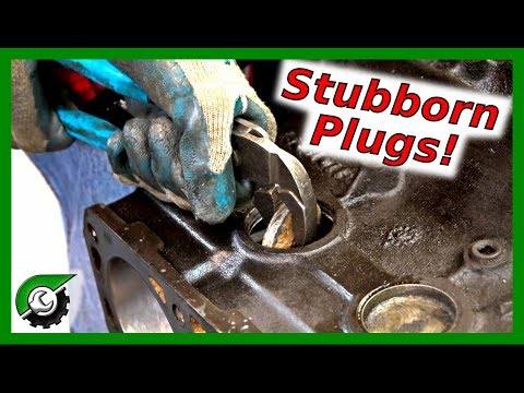 Jeep 6cyl Freeze Plugs and Oil Gallery: Rebuild Part 12