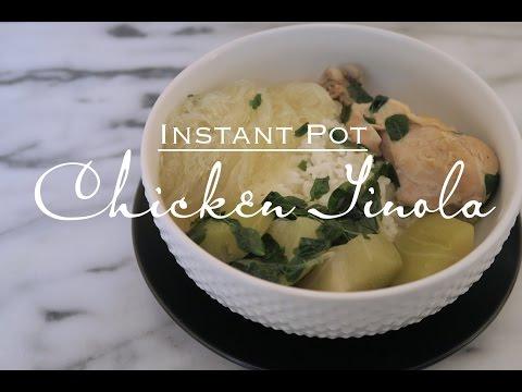 Chicken Tinola - Instant Pot