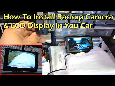 Boyo rear view camera wiring diagram rear camera view how to install rear view reverse backup camera on car asfbconference2016 Gallery