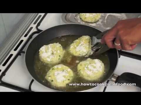 Italian Ricotta Cheese Potato Cakes Recipe - Potatocakes