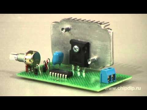 DC Current PWM-Controller. Circuit Engineering