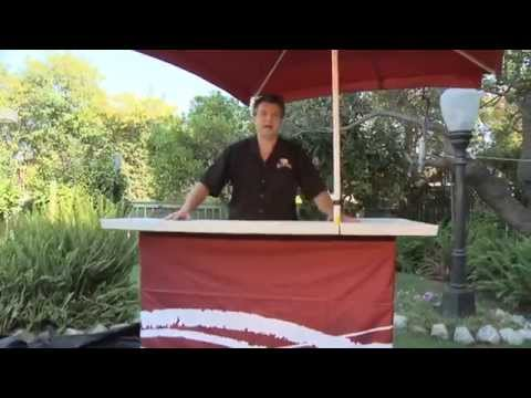 Portable Outdoor Bar | Backyard Tailgating Bar