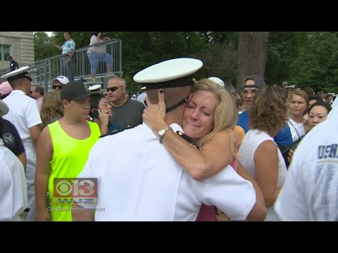 Naval Academy Students Finish Plebe Summer, See Families For First Time In 7 Weeks