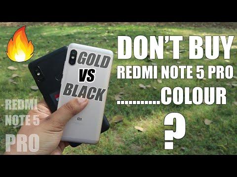 Don't Buy REDMI Note 5 Pro .... Colour ?   Full Compare in Hindi
