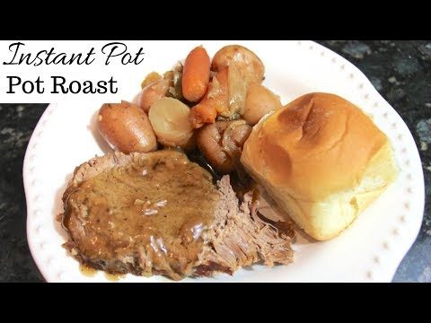 Instant Pot Pot Roast Recipe: Easy One Pot Dinner In A Pressure Cooker
