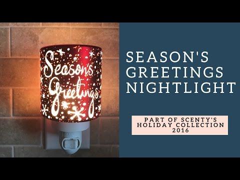 Scentsy's Season's Greetings Nightlight