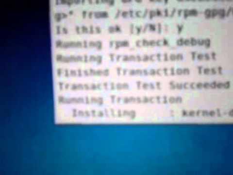 Kernel actualizado en Centos 5