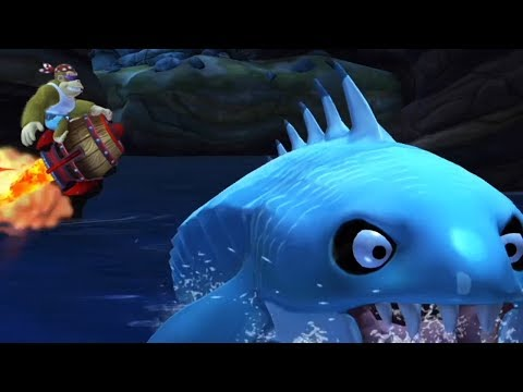 Donkey Kong Country Tropical Freeze - All Rocket Level with Fuky Kong