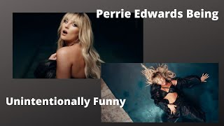 perrie edwards being unintentionally funny