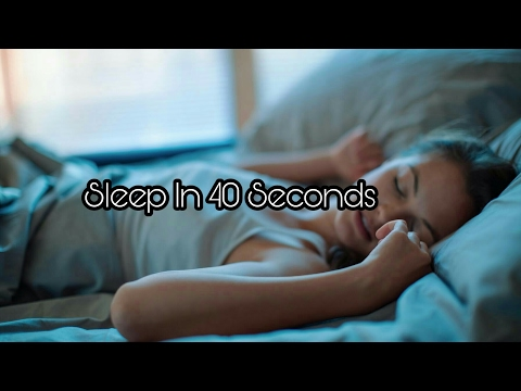 How To Sleep In 40 Second