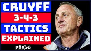 Johan Cruyff's Tactics Explained | Cruyff Dream Team Tactics | How Cruyff Transformed Barcelona |