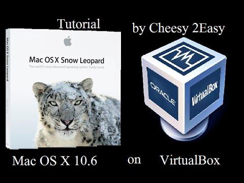 [Tutorial] Install Mac OS X 10.6 snow leopard on VirtualBox !!!
