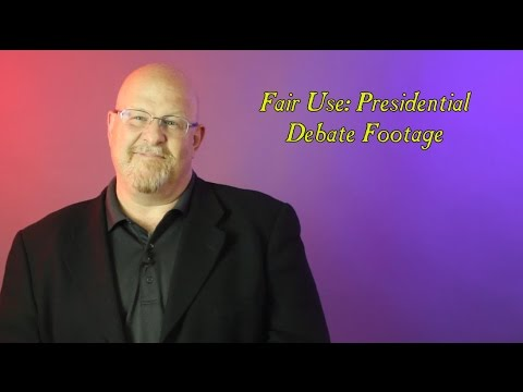 Fair Use: Presidential Debate Footage - Entertainment Law Asked & Answered