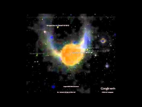 Nibiru on google earth 2016