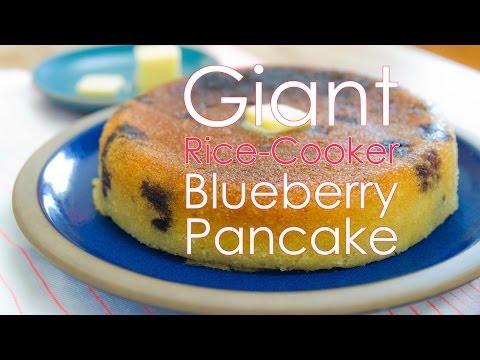 Rice-Cooker Blueberry Pancake | Bon Appétempt | PBS Digital Studios
