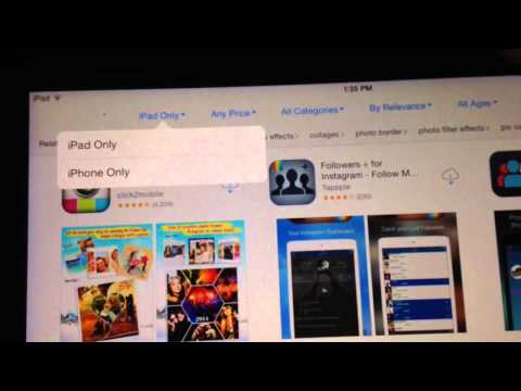 How to get INSTAGRAM/Snapchat for iPad! (Or any app on the iPhone)