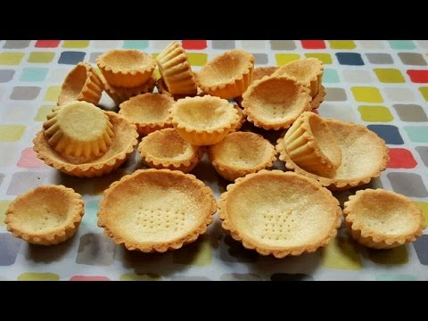 Simple & Easy Tart Shells Recipe -  簡單撻皮做法