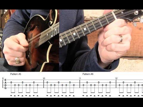 Mandolin Pick Technique- Crosspicking & Syncopation