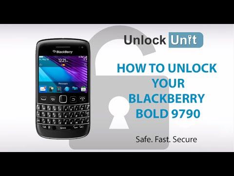 UNLOCK BLACKBERRY BOLD 9790 - HOW TO UNLOCK YOUR BLACKBERRY BOLD 9790