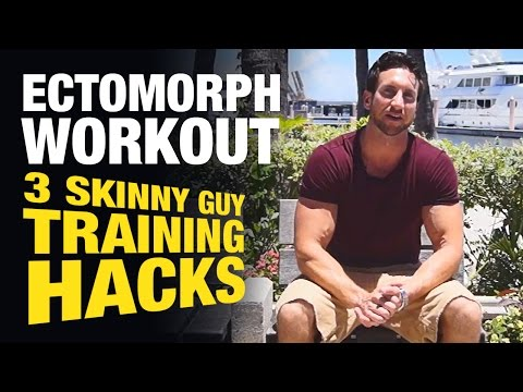 Ectomorph Workout: Skinny Guy Training Hacks To Build Muscle Faster & Increase Strength