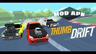 Thumb Drift Furious Racing (apk mod) Android Gameplay