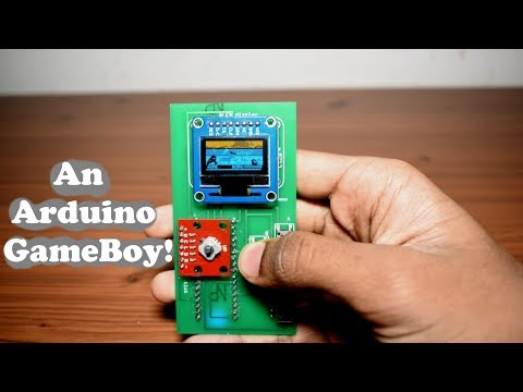 DIY Arduino Handheld Game Console!