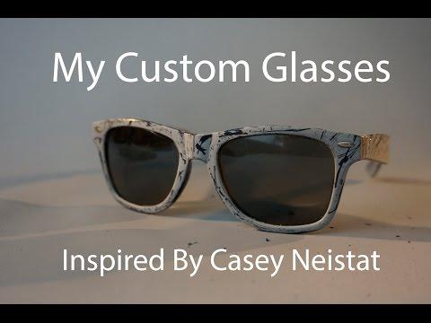 Custom Sun Glasses, Inspired By Casey Neistat
