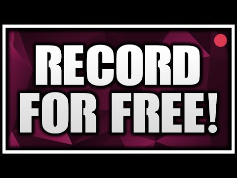 Best FREE Screen Recorders! How To Record Your Screen For Free 2016!