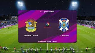 PES 2020 | Fuenlabrada vs Tenerife - La Liga Smartbank | 12/06/2020 | 1080p 60FPS