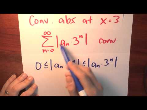 For which values does a power series converge? - Week 5 - Lecture 1 - Sequences and Series