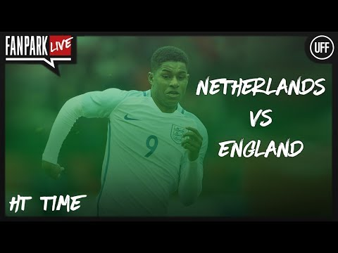 Netherlands 0 - 0 England - Half Time Phone In - FanPark Live