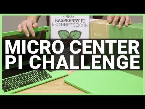 Micro Center Pi Video Challenge