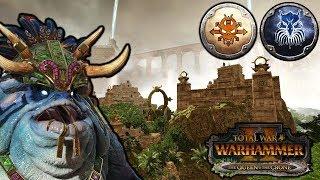 A CLASH OF TITANS! - Kholek vs  Kroq-Gar SFO - Total War
